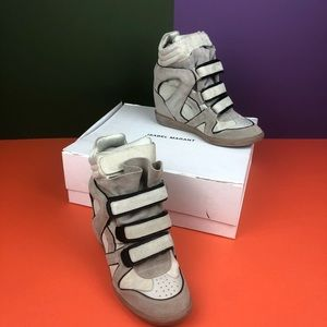 Isabel Marant sneaker wedges size 39 w box